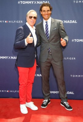 Tommy Hilfiger and Rafael Nadal
