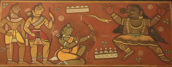 Untitled (Taraka Vadha)