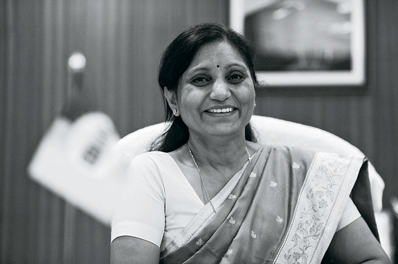 Usha Sangwan, Managing Director at Life Insurance Corporation of India
