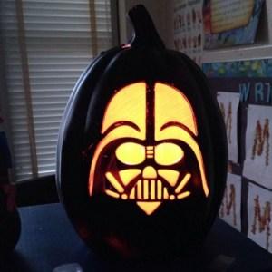 Vader pumpkin