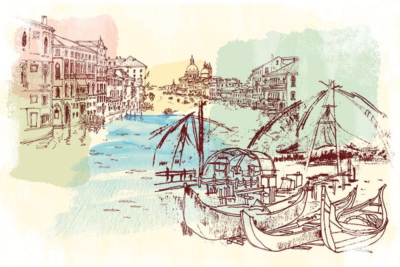 Musings, Venice, Kochi