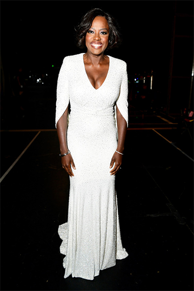 Viola Davis in Micheal Kors Collection