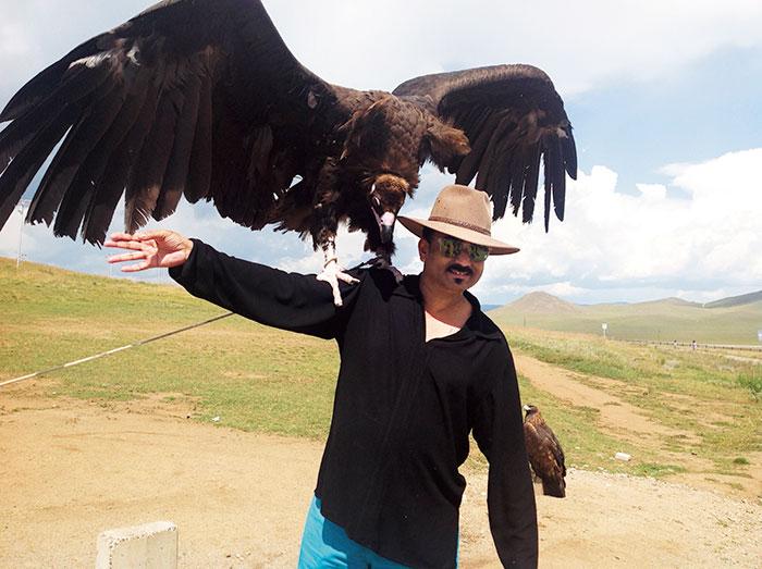 Fashion designer Wendell Rodricks visits Mongolia