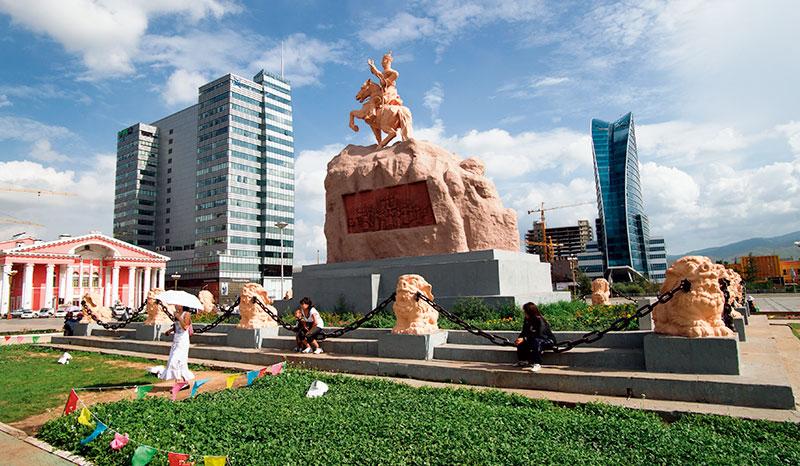 Chinggis Khaan Square