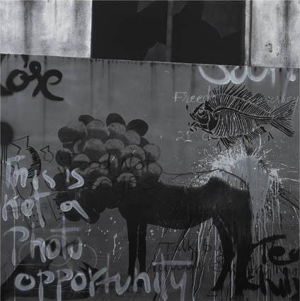 Window 4 (Graffiti series), 2015
