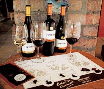 Chocolate Pairing at Creation Wine Estate