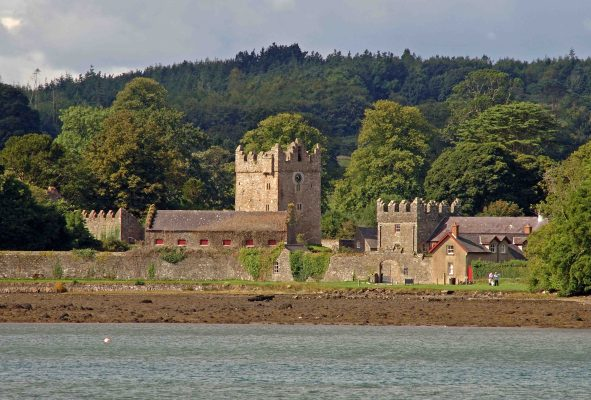 Castle Ward Tower House Strangford Lough Northern Ireland