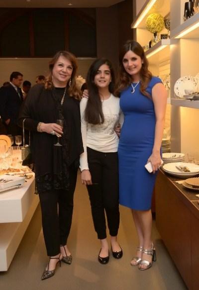 Zarine Khan, Adah Arora and Simone Arora