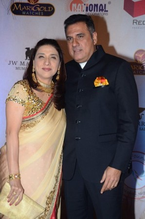 Zenobia and Boman Irani