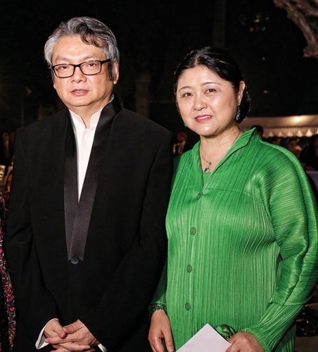 Zheng Xiyuan and Li Fanghui