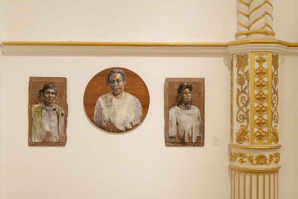Zico Albaiquni, Preface to Erudition, 2012, Installation View at Bhau Daji Lad Mumbai