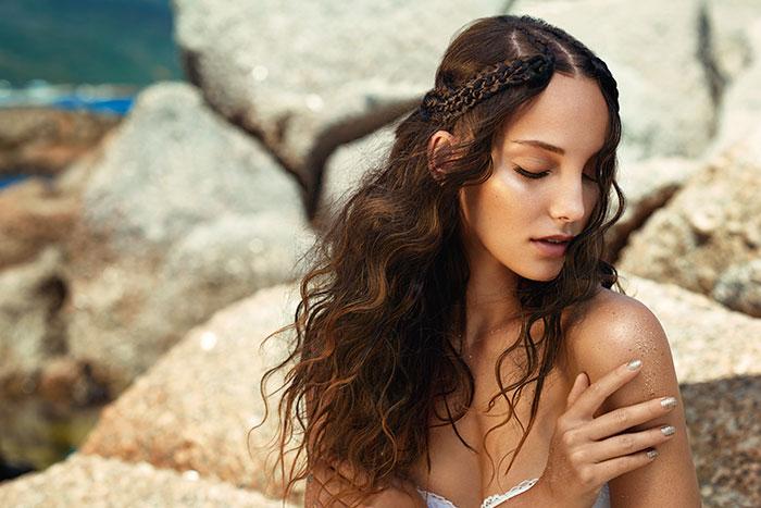 Beauty, Beach Hair