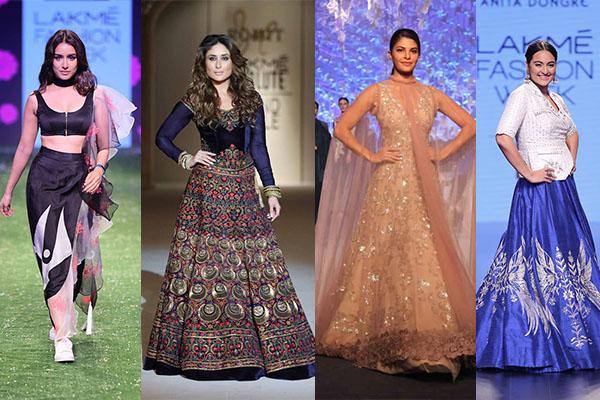 lakme fashion week summer resort 2016, bollywood, celebrites