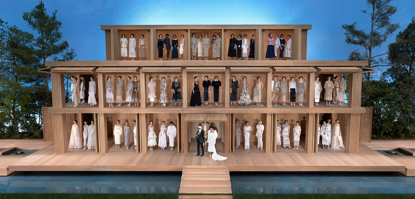 chanel ss haute couture 2016, karl lagerfeld, grand palais