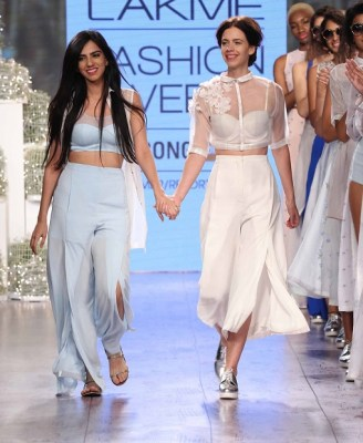 Nishka Lulla with showstopper Kalki Koechlin