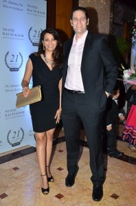 Diana Hayden and Collin Dick