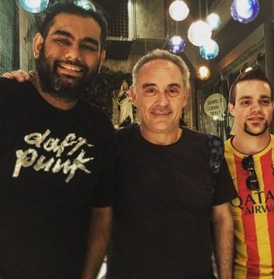 Gaggan Anand with Ferran Adria
