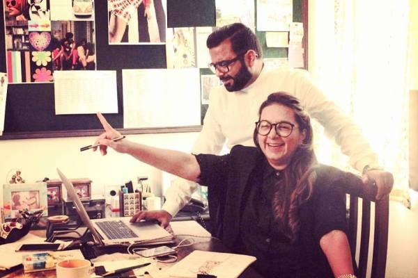 Designers Hemant and Nandita