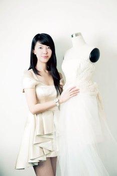 Fashion designer Chailie Ho