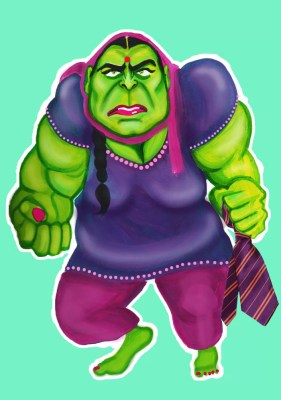 The Incredible Hulkwinder