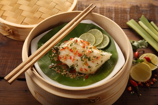 Steamed John Dory With Thai Spices