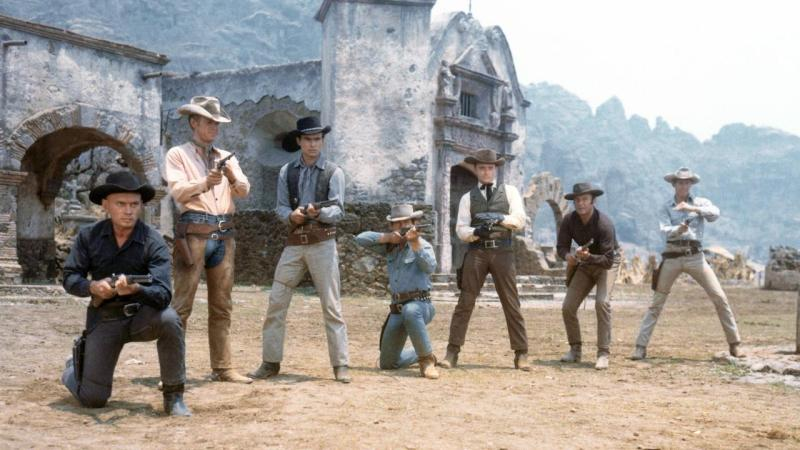 A still from The Magnificent Seven (1960)