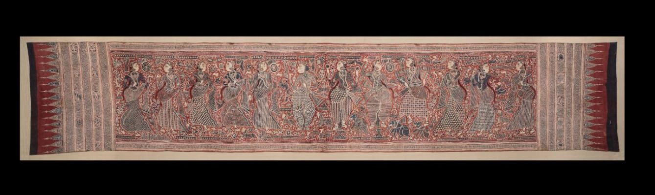 Heirloom textile made in Gujarat