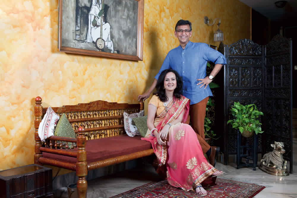 Yashwardhan and Anu Saboo Ethos