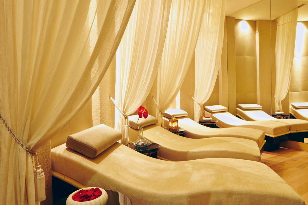 Relaxation Lounge, The Royal Spa, ITC Grand Chola