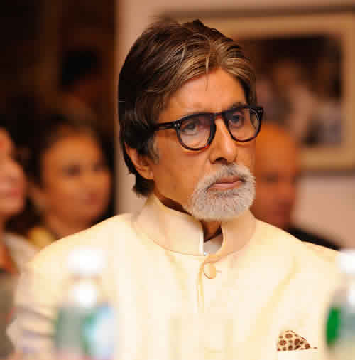 Amitabh Bachchan at the launch of Meri Beti Meri Shakti by Plan India