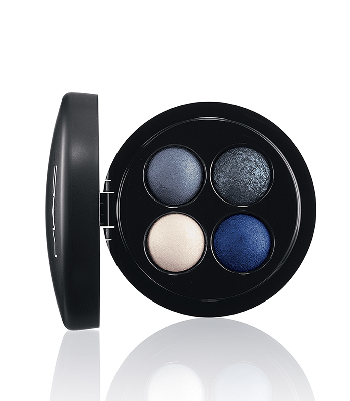 M.A.C MINERALIZE EYE SHADOW X4 IN A SPRINKLE OF BLUES