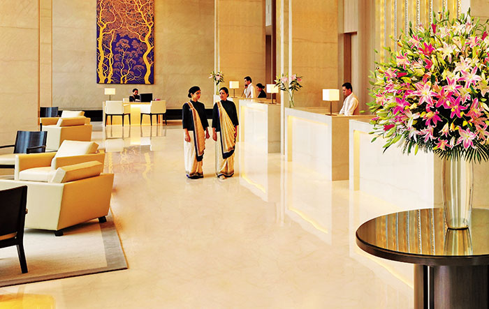 Trident Hyderabad The Lobby