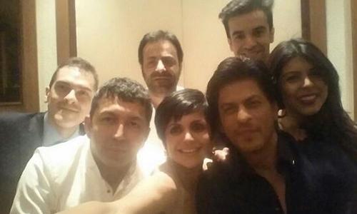 Tag Heuer Shah Rukh Khan ussie