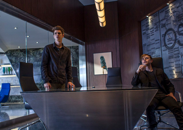 Andrew Garfied and Dane DeHann in the Amazing spider man 2
