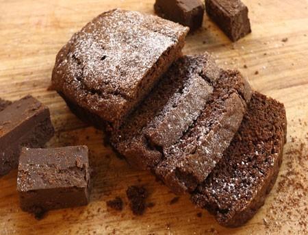 Dense chocolate loaf