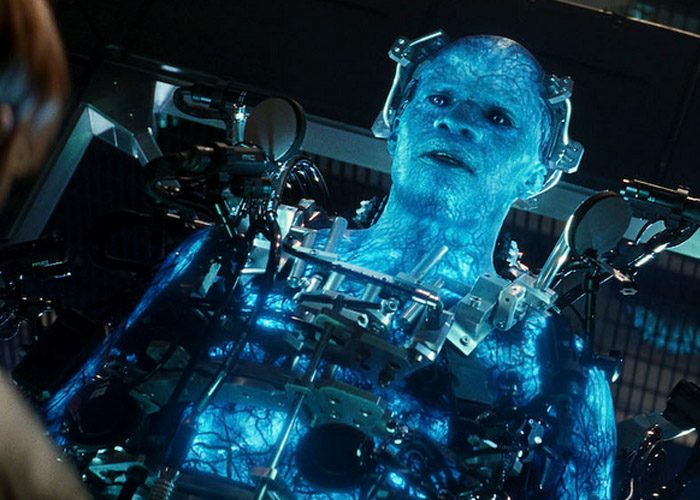 jamie foxx as electro in the amazing spider man 2