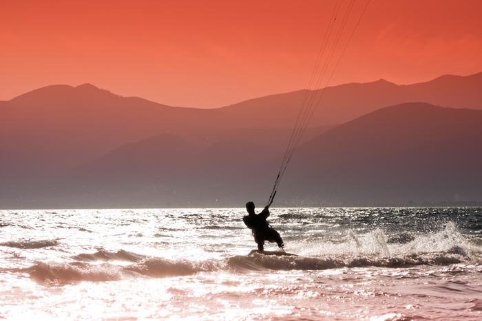 Europe in the Summer: Kitesurfing in Greece