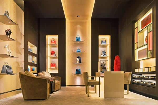 FENDI New Bond Street Boutique London Selleria Room