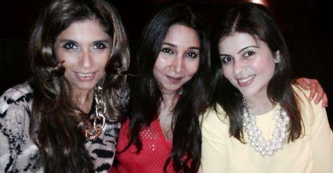 Roohi Jaikishan, Nisha Jhangiani, Maneka Thadani