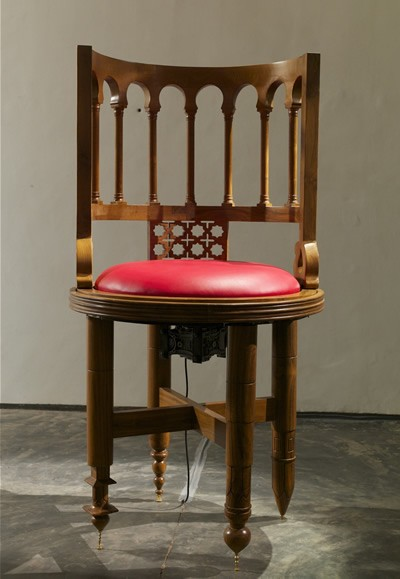 Mansoor Ali, Anatomy of a Chair, The Restless Chair, 2014