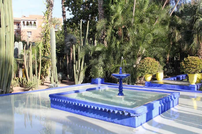 marrakesh: Majorelle Gardens, once owned by YSL