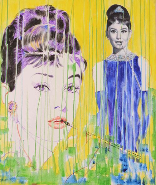 Nawaz Modi Singhania, Audrey Hepburn