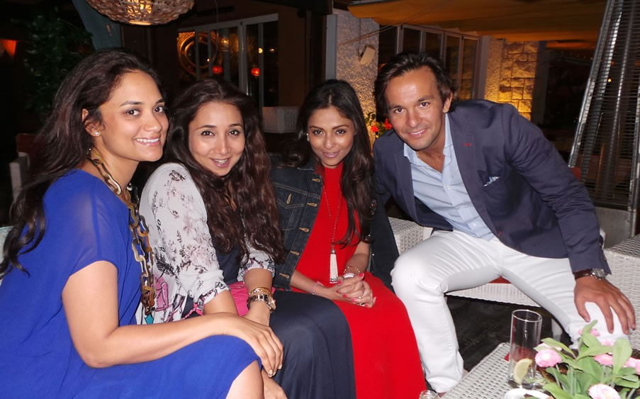 SHA: Nausheen Noor, Nisha Jhangiani, Kalyani Chawla, Alejandro Bataller