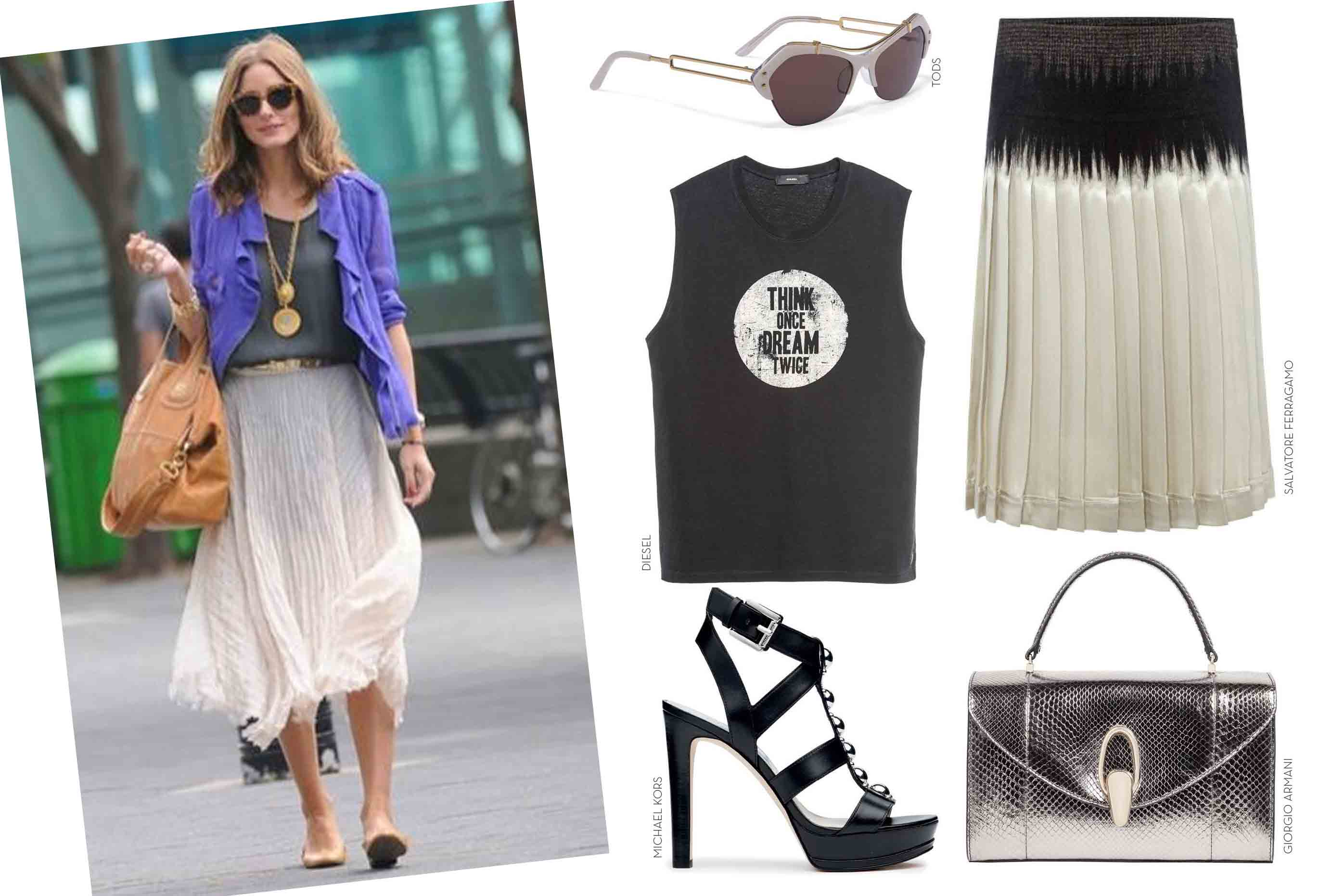 Girlie meets grunge get the look fashion