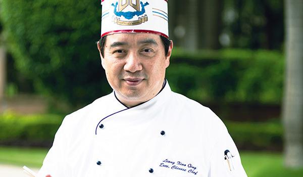 Executive Chinese Chef Liang Xiao Qing
