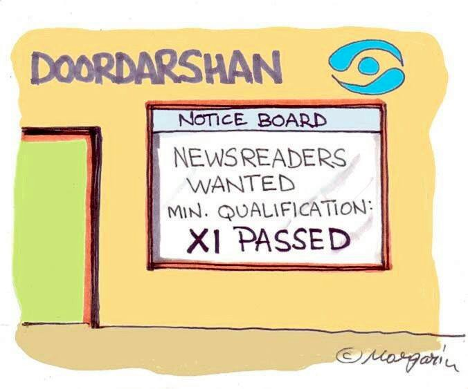 Hemant Morparia, Doordarshan, Xi Jinping, Cartoons, Cartoonists, Caricaturist Crowned