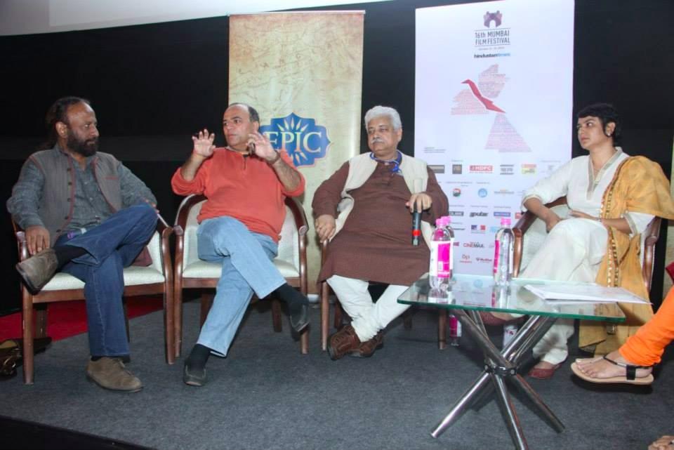 MAMI Film Festival, MAMI 2014, Panel Discussion, Ketan Mehta, Atul Tiwari