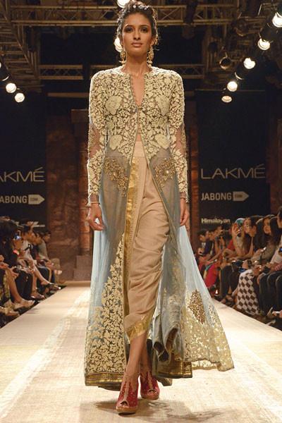 Anju Modi, Lakme Fashion Week 2014