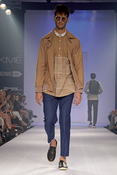 Anuj Bhutani, Lakme Fashion Week 2014