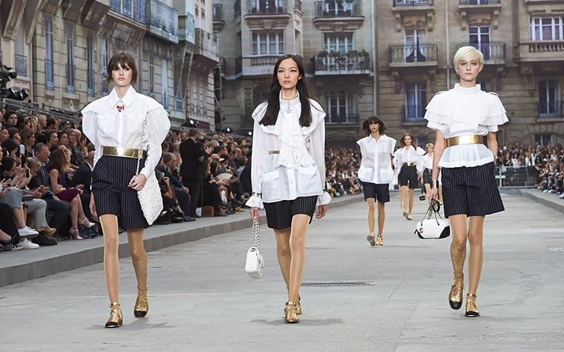 Chanel ready to wear spring summer 2015 karl lagerfeld